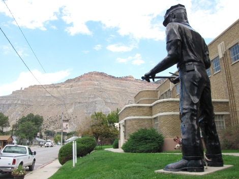 Visit Helper, Utah's giant coal miner!