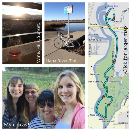 Napa photos and Napa River Trail map