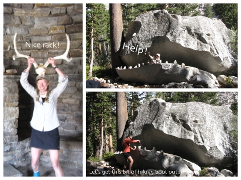 JMT antlers and rock monster