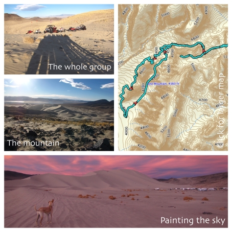 Sand Mountain photos and map link