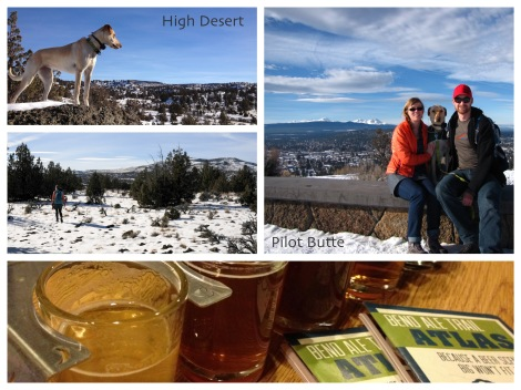 Bend - high desert, Pilot Butte, Bend Ale Trail