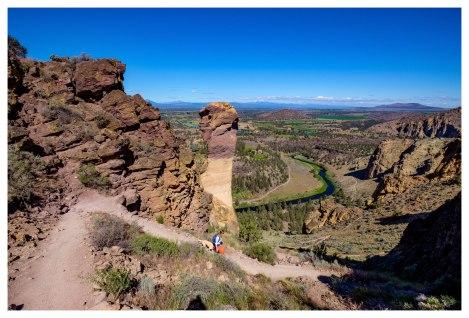 Descending Misery Ridge