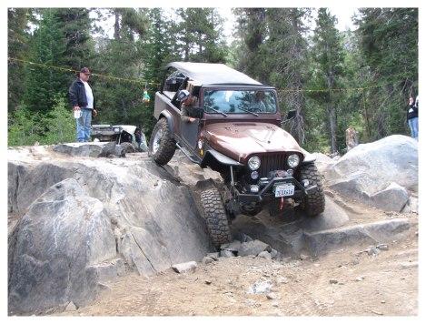 Sierra Trek on Fordyce Trail