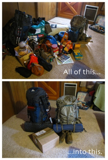 JMT Packing - Section One