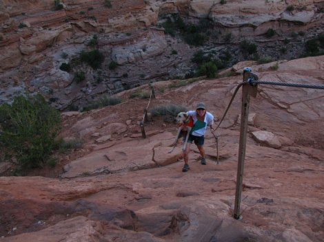 Hiking in Moab - photo by Wildlife 4-8