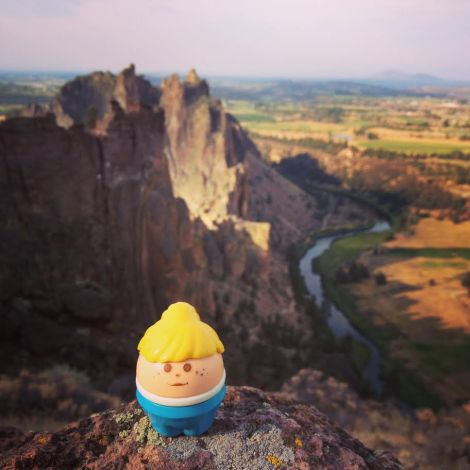 Little Lis at Smith Rock State Park