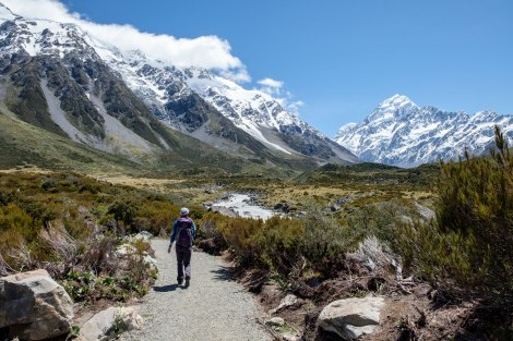 Hooker Valley Track Photo by Compass