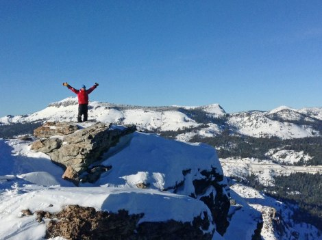 The view from the top - looking toward Donner Ski Ranch.