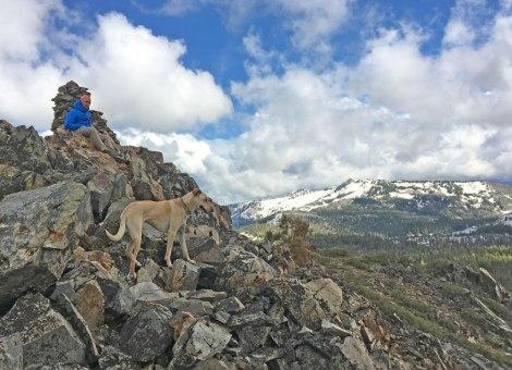 Top of Cracked Crag