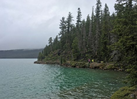 Paulina Lakeshore Trail