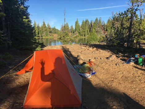 South Matthieu Lake camp